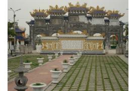 Chùa Cao Linh - Khu di tích Bạch Đằng Giang