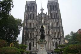 Nhà thờ sở kiện - bùi chu - phát diệm - đền thánh Phú Nhai   (3 Ngày/2 Đêm)